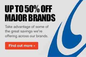 Up to 20% off major brands such as Salomon, Head, Rossignol