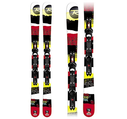 Picture of Rossignol Sprayer Pro Skis inc Xelium 45 Bindings