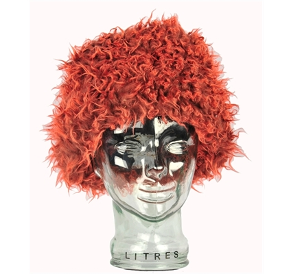 Picture of Zepla Ginger Perm Hat / Scouse Wig