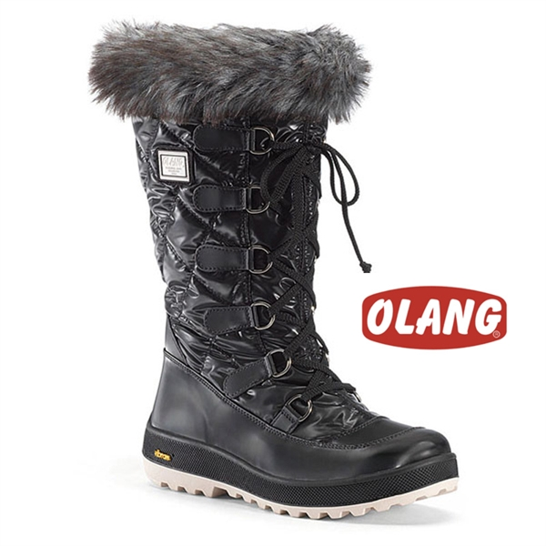 discount sale comfortable feel uk cheap sale Skee Tex. Olang Sogno Ladies Snow Boots Black