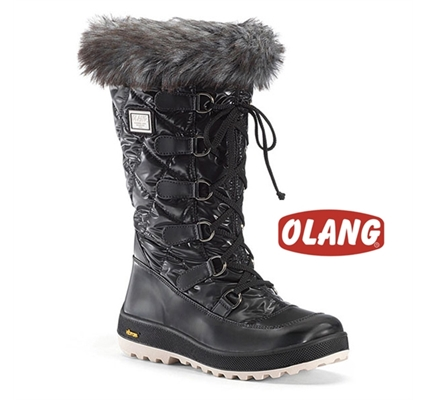 Picture of Olang Sogno Ladies Snow Boots Black