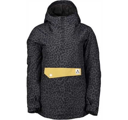 Picture of Wearcolour Homage Anorak Black Leopard