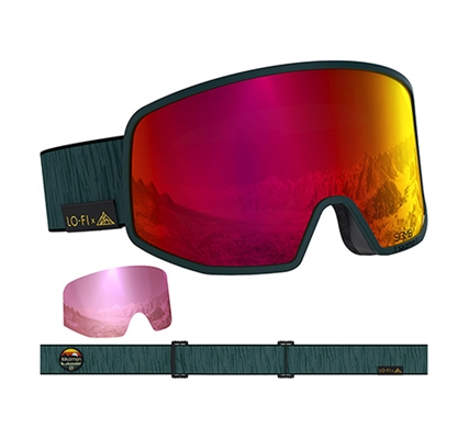 Picture of Salomon Lo Fi Sigma Green Goggle